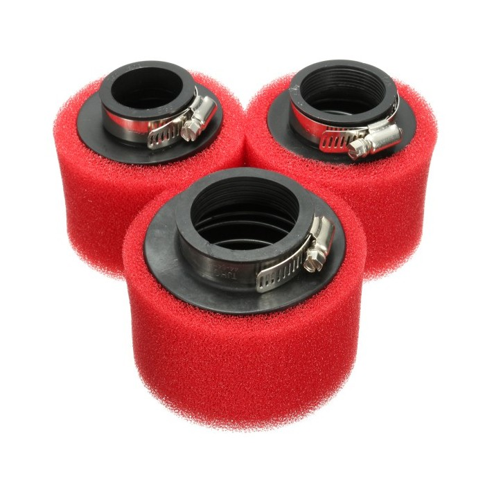 Racing Motorcycle Scooter Bike Dirt Pit Air Filter ATV For GY6 50cc 35mm 38mm 42mm 48mm