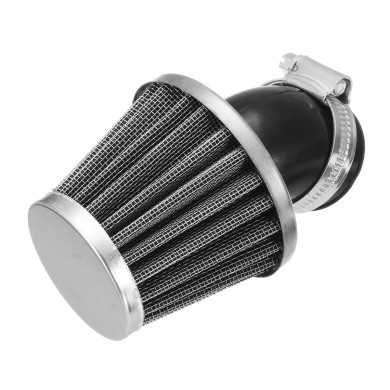 35-50MM Air Filter Black Fit For 50 110 125 140CC Pit Dirt Bike Motorcycle ATV Scooter