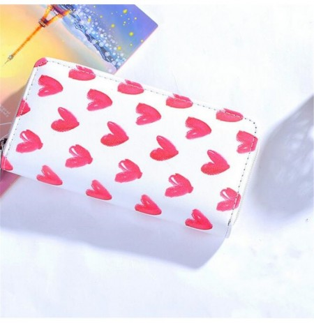 Women PU Leather Multi Card Slots Wallet Long Purse Phone Bag