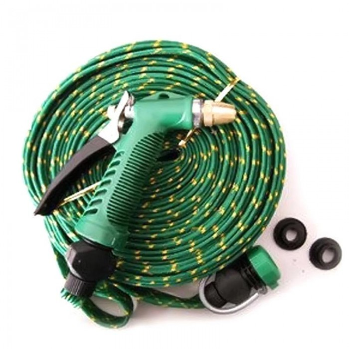 10m Garden Cleaning Car Vehicle Washing Garden Brass Pipe Hose High Pressure Water Sprayer Set