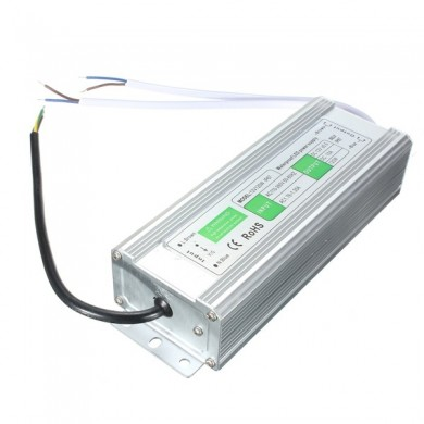 120W Waterproof IP67 LED Transformer Power Supply Driver AC110V-260V To DC12V