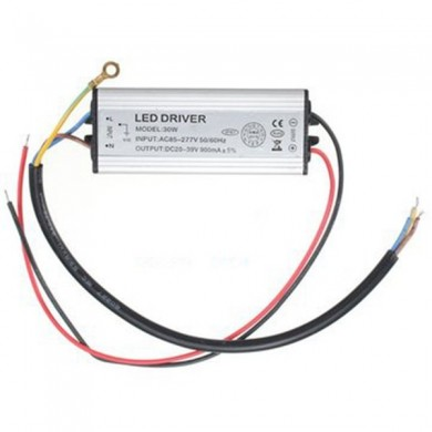 New 30W Waterproof IP67 Power Supply Constant Current LED Light Driver
