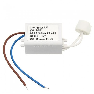 LED High Power MR16 G4 1-5W LED Driver Power Supply Transformer AC85-265V to DC12V