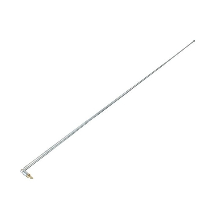 Full-channel AM FM Radio Telescopic Antenna Replacement 63cm Length 4  Sections
