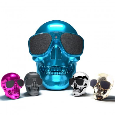 Skull Wireless Bluetooth Super Bass Stereo Lautsprecher NFC 45W Subwoofer