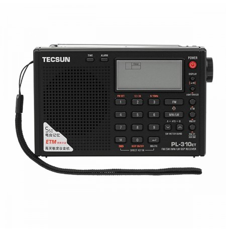 Tecsun PL-310ET Full Band Digital Demodulator FM AM SW LW Stereo Radio Receiver