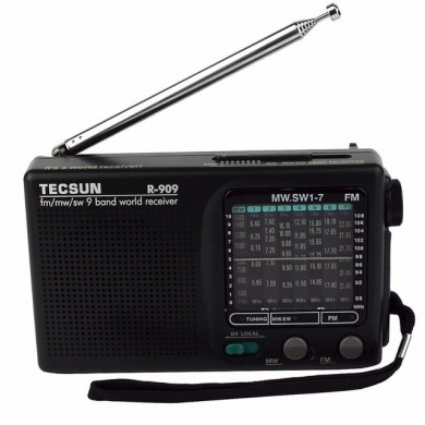 Tecsun R-909 FM AM SW Full-Time Semiconductor Multiband Stereo Радио Приемник