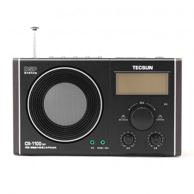 Tecsun CR-1100 DSP AM FM Radio Receiver with Flash Light