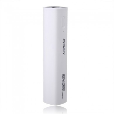 Pisen 2500mAh carregador banco do poder do laser para tablet iphone