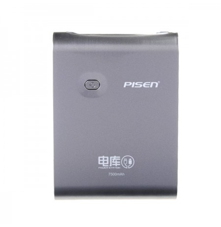 Pisen 7500mAh Power Bank Mobile Chager For iPhone Tablet