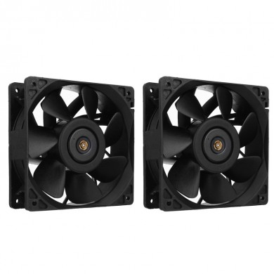 2pcs 118x118x36mm 4pin 6000RPM Cooling Fan for Antminer S7 S9 Mining