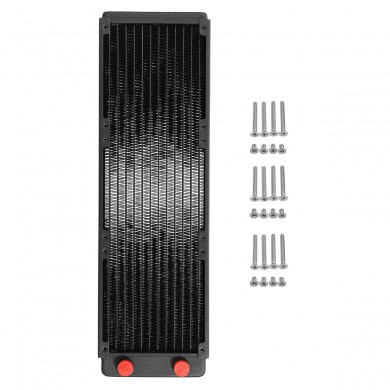Copper 360mm 12 Tubes Desktop PC Computer Water Cooling Radiator Heatsink