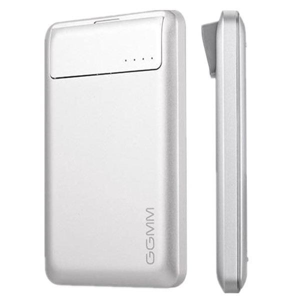 GGMM Streamliner DZ00201 2 USB Port 6000mAh Power Bank with Micro SD Card Reader Function