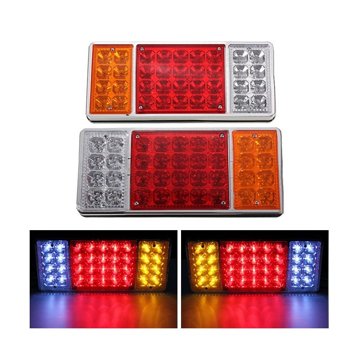 12v 36 LED Trailer Truck Stop Rear Tail Indicator Reverse Lights