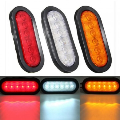 LED Turn Light Stop Tail Lamp Sealed Surface Mount For Car Trailer Truck
