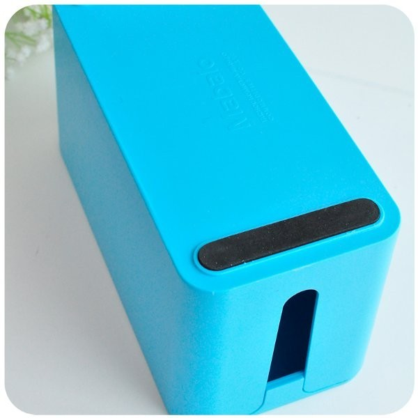 Home Candy Color Cable Power Cord Storage Finishing Box