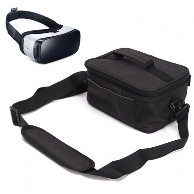 Universal Nylon Durable VR Glasses Bag Adjustable Shoulder Strap VR Glasses Storage Bag