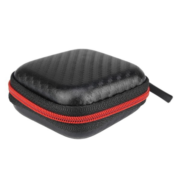 Mini Portable Storage Square Bag Box For Earphone Headphone Cable Charger