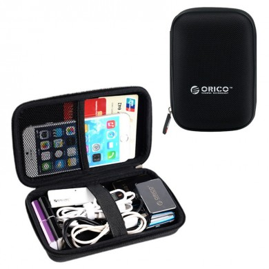 Orico 2.5 Inch Hard Drive Protective Bag Digital Accessory Earphone Cable Storage Bag Collection Box