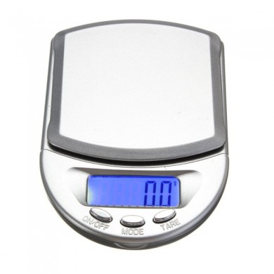 0.1 - 500g LCD Display Digital Pocket Weight Scale Balance