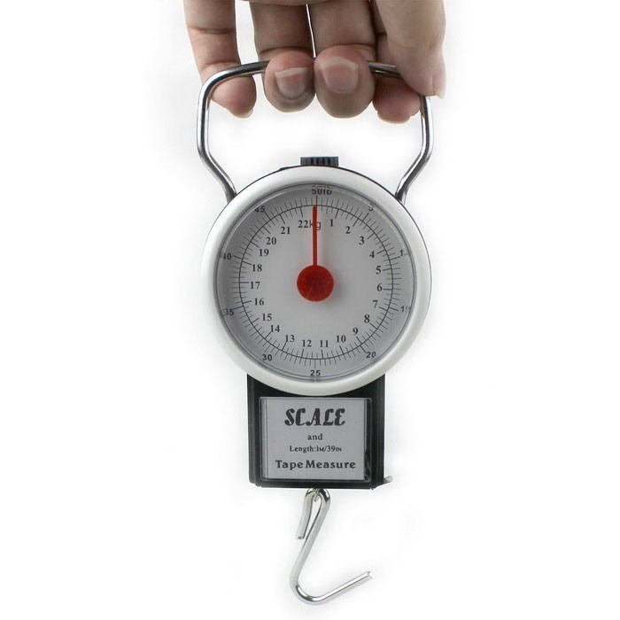 2 In 1 22kg 50lbs Portable Scale