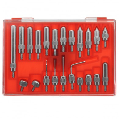22Pcs Steel Indicator Point Set For Dial Test Indicators Standard 4-48 Thread
