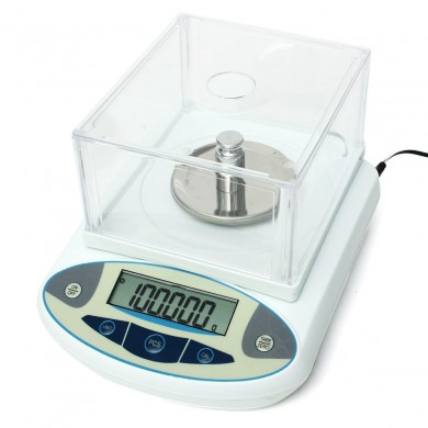 100 0.001g 1mg Digital Lab Analytical Balance Electronic Precision Scale