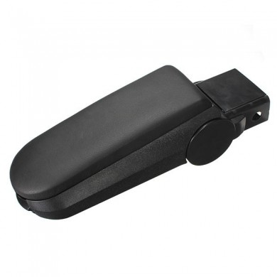 Leather Arm Rest Console Cover and Storage Box for VW Golf Jetta Bora