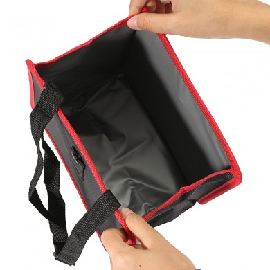 Auto Car Garbage Bag Waste Basket Collapsible Oxford Fabric Easy Clean Storage Bag