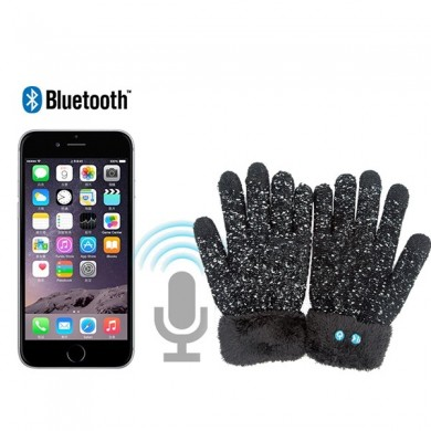 Mens Winter Gloves Wireless Bluetooth Touch Screen Mobile Headset With Mic Gloves Speaker