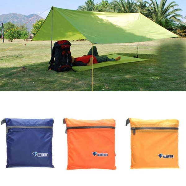 IPRee 250x150CM Portable Camping Tent Sunshade Outdoor Waterproof Shelter Canopy Tentage