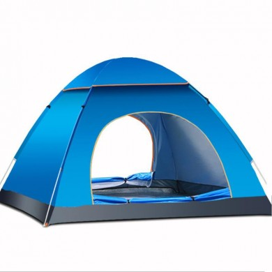 Outdoor 3-4 Persons Camping Tent Automatic Quick Open Waterproof UV Sunshade Canopy