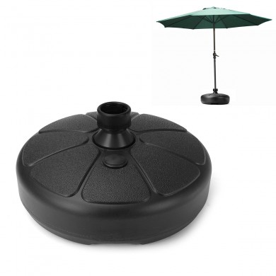 IPRee 38mm Outdoor Garden Beach Umbrella Stand Plastic Parasol Base Patio Furniture