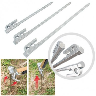 20CM 25CM 30CM Professional Outdoor   Steel Tent Nail Hiking Equipment