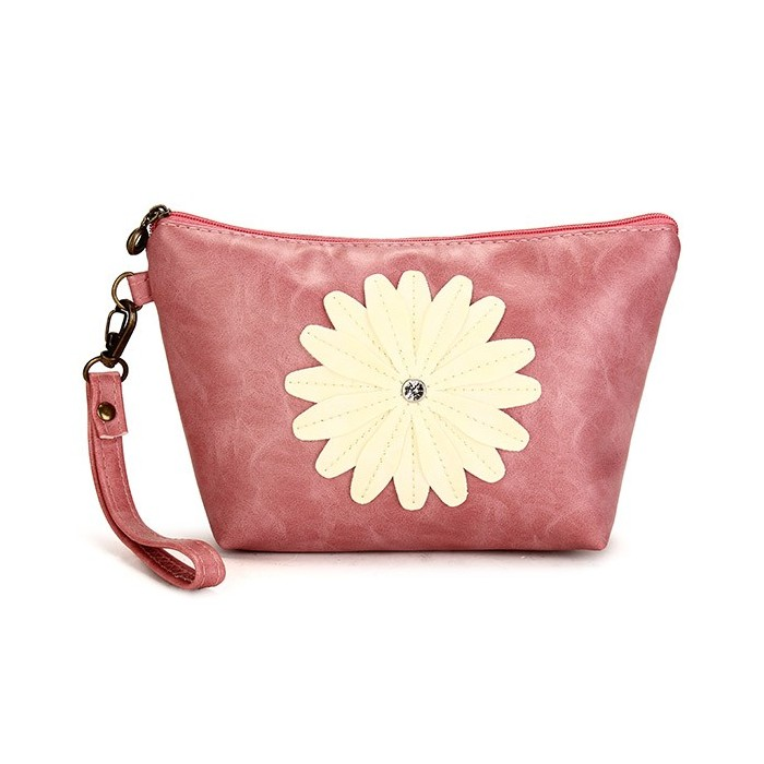 Frauen Sunflower Geldbörse Clutch Bag Cosmetic Bag