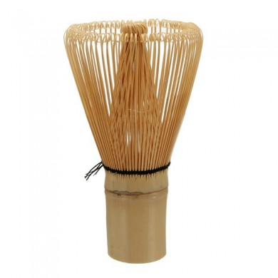100 Prongs White Bamboo Chasen Matcha Whisk