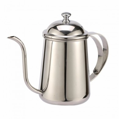 Stainless Steel Small Mouth Pot Punch Kettle Coffee Pot Tea Tools Drinkware Coffee Maker