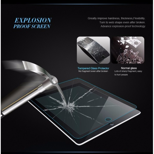 0.3mm Tempered Reinforced Glass Screen Protector Clear Front Film Case For iPad Mini 4