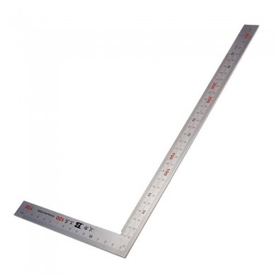 150 x 300mm 90 Degree BOSI Stainless Steel Square BS181230