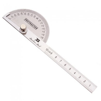 BOSI 90 x 150mm BOSI BS181809 Protractor Round Head Stainless Steel
