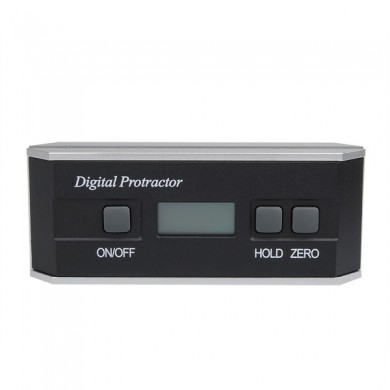Digital 360Degrees Magnetic Protractor Angle Finder Meter Inclinometer