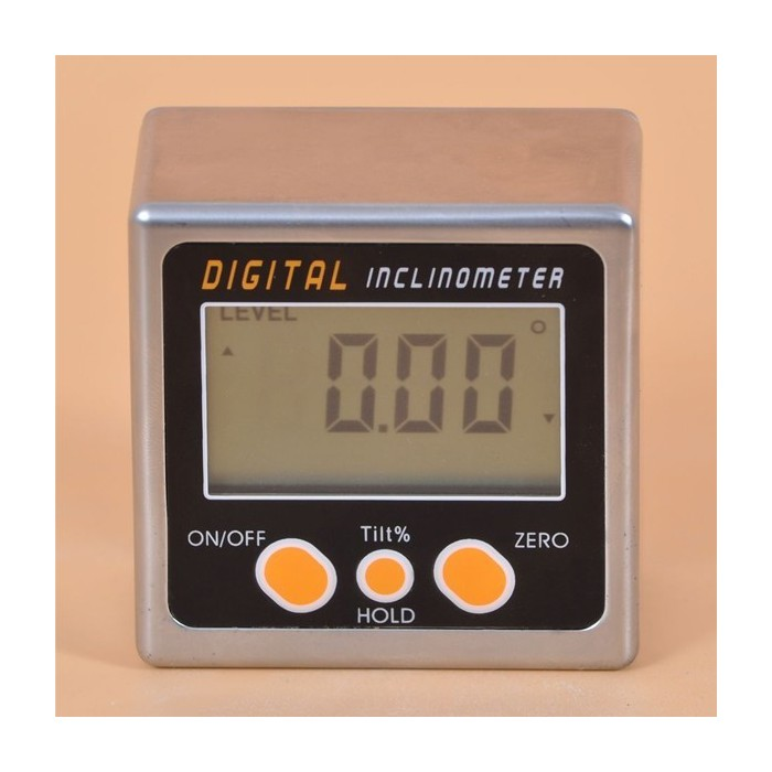 3 x Sided Magnet Digital Box Gauge Angle Protractor Level Inclinometer 0-360°