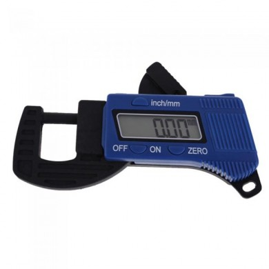 G15 0-12.7mm 0.01mm Carbon Fiber Composites Digital Thickness Caliper Micrometer Guage