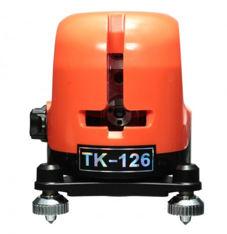 TK-126 2 Line 1 Point Laser Level Horizontal And Vertical 360 Rotation Self Leveling Cross