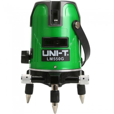 UNI-T LM550G 5 Lines Green Laser Level 360 Degree Self-leveling Cross Laser Level