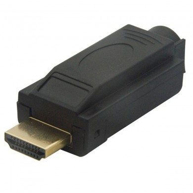 High Definition Multimedia Interface Male Plug Terminals Connector Adapter