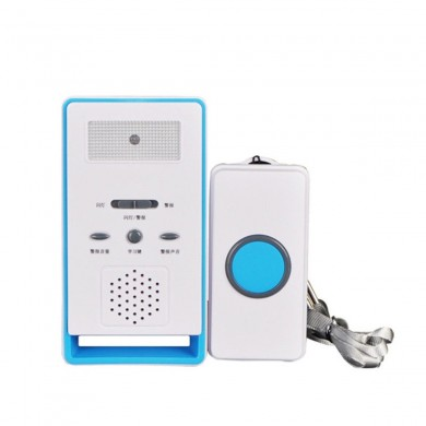Wireless SOS Emergency Dialer Alarm System Panic Button Elderly Handicapped