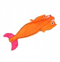 Outdoor Sports Entertainment 3D Huge Parafoil Giant Dolphin Kite with 2.6m Tail
