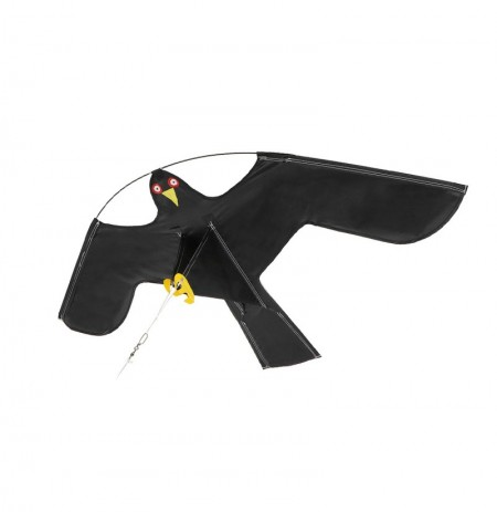 Emulation Flying Hawk Bird Scarer Drive Bird Kite For Garden Scarecrow Yard Home