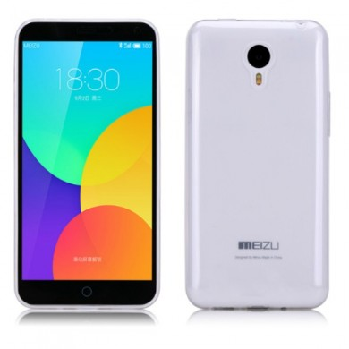 Ultra thin Soft Silicone Transparent TPU Case For  MEIZU M1